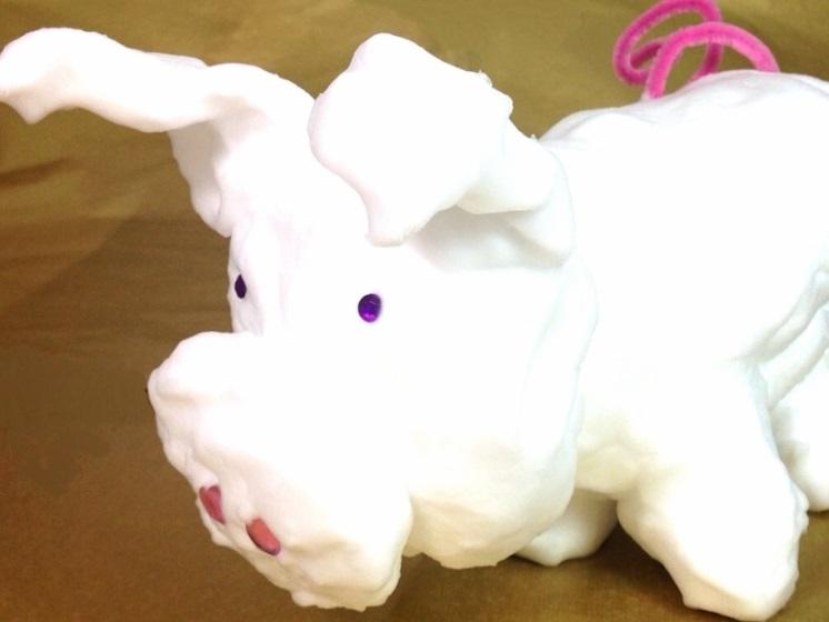 Soapy-Foam-Pig