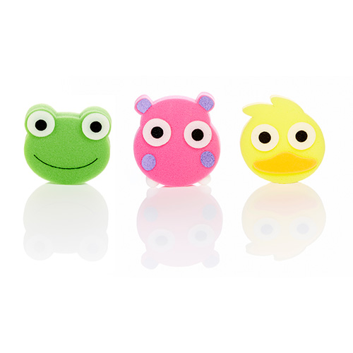 Fun sponge bathtime buddies for Sponge co uk